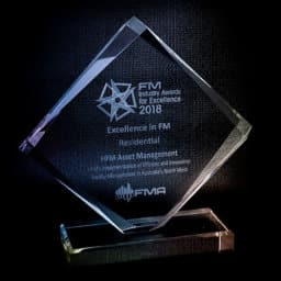 HFM was Awarded with The 2018 Excellence in FM Award - Residential