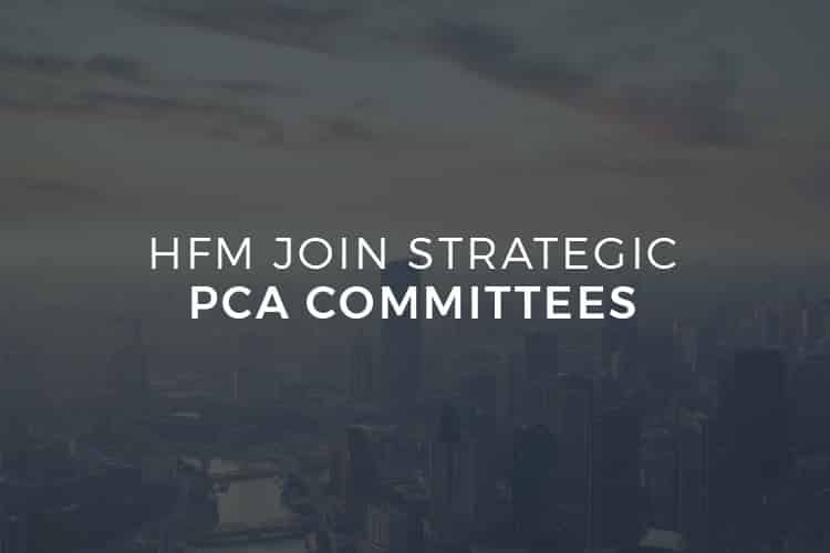 HFM Join Strategic PCA Committees