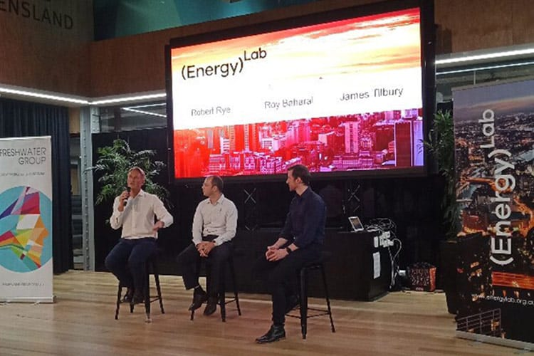 Robert Rye at the Energy Lab event in Queensland