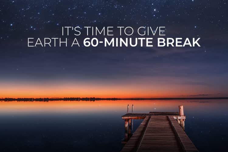 It's time to give Earth a 60-minute break for Earth Hour 2019