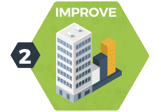 Building improvement icon