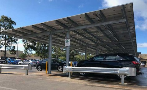 Dunsborough Centrepoint 440kW Solar Carpark