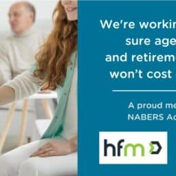 HFM is a Nabers Accelerated member, working to make sure aged care and retirement living is cost efficient